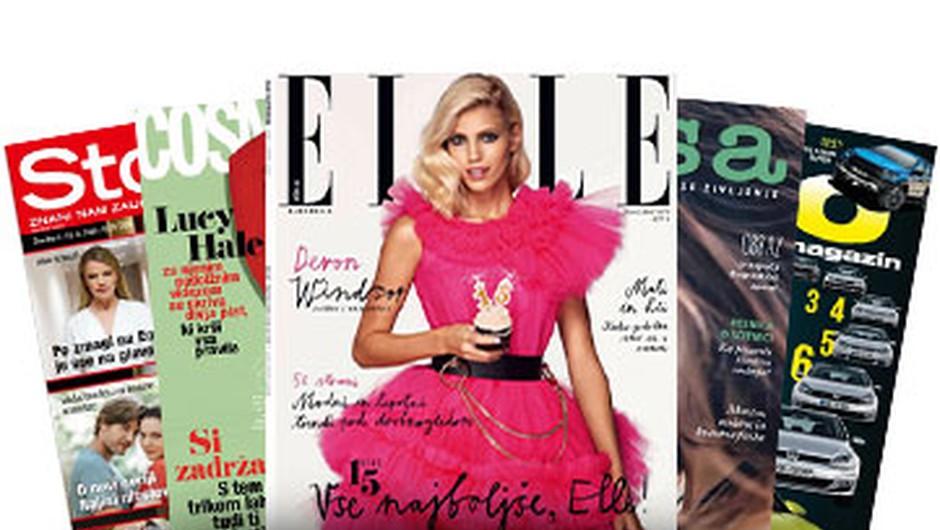 5 celoletnih naročnin revij za samo 10€! (foto: Adria-Media Press)