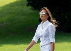 Kdo v resnici plačuje luksuzna dizajnerska oblačila Melanie Trump