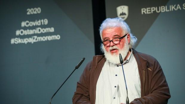Svet NIJZ za novega direktorja izbral Milana Kreka (foto: Anže Malovrh/STA)