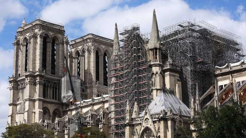 V Parizu bodo ponovno začeli obnavljati katedralo Notre-Dame (foto: Xinhua/STA)