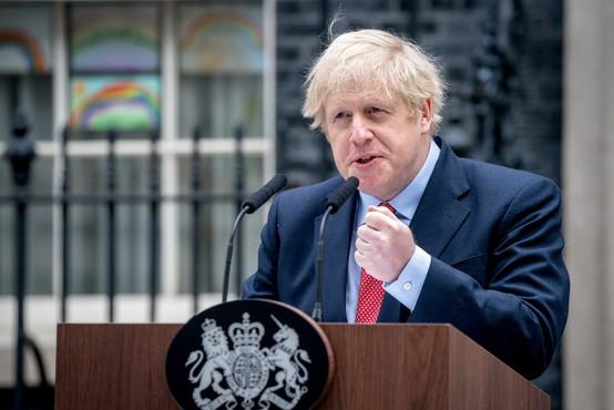Britanski premier Boris Johnson poziva Britance k potrpljenju