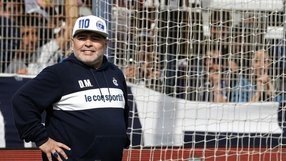 Maradona: Vrnitev na igrišče? Kot srečanje z dekletom. (foto: profimedia)