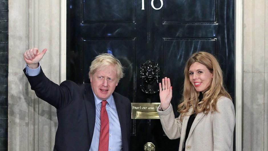 Britanski premier Boris Johnson se je razveselil šestega otroka (foto: Profimedia)