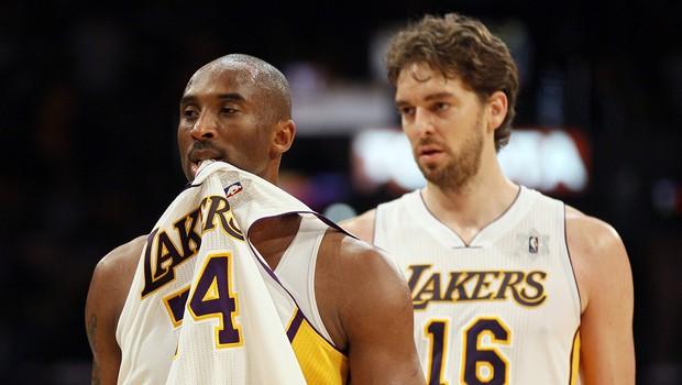 Zakaj je dal Kobe Bryant Gasolu vzdevek Pablo? (foto: profimedia)