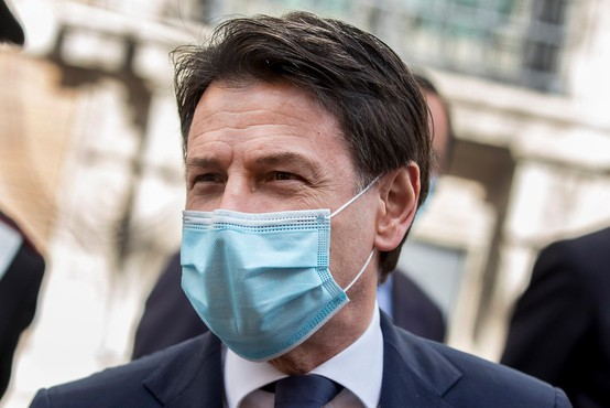 Giuseppe Conte po dveh mesecih karantene napovedal sprostitev omejitev v Italiji