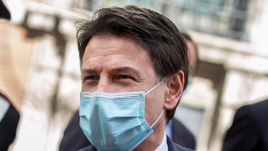 Giuseppe Conte po dveh mesecih karantene napovedal sprostitev omejitev v Italiji (foto: profimedia)