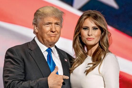 Melania in Donald Trump sta se že vgnezdila na posestvu na Floridi
