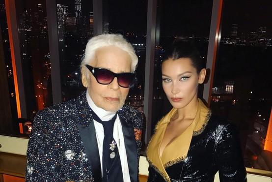 Karl Lagerfeld bi v četrtek praznoval rojstni dan - oglejte si 25 njegovih najbolj priljubljenih muz