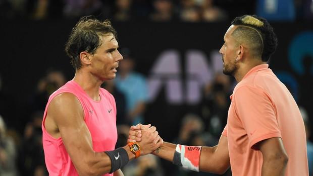 Kyrgios in Nadal se ne marata. Zdaj Avstralec Španca vabi na pogovor v živo. (foto: profimedia)