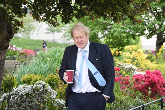 Oče Borisa Johnsona se zavzema za ponatis svojega romana o virusu