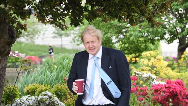 Oče Borisa Johnsona se zavzema za ponatis svojega romana o virusu (foto: Profimedia)