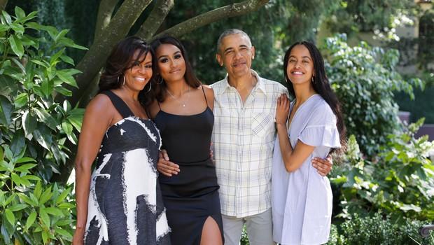 Sasha in Malia Obama prvič v intervjuju spregovorili o mami Michelle (foto: Profimedia)