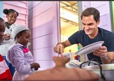 Roger Federer doniral milijon dolarjev ogroženim družinam v Afriki