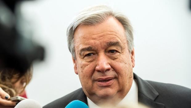 Antonio Guterres se zavzema za boj proti sovraštvu in ksenofobiji, nastalih ob pandemiji (foto: profimedia)