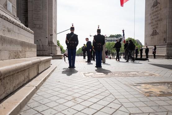 Po Evropi proslavili 75 let od konca druge svetovne vojne