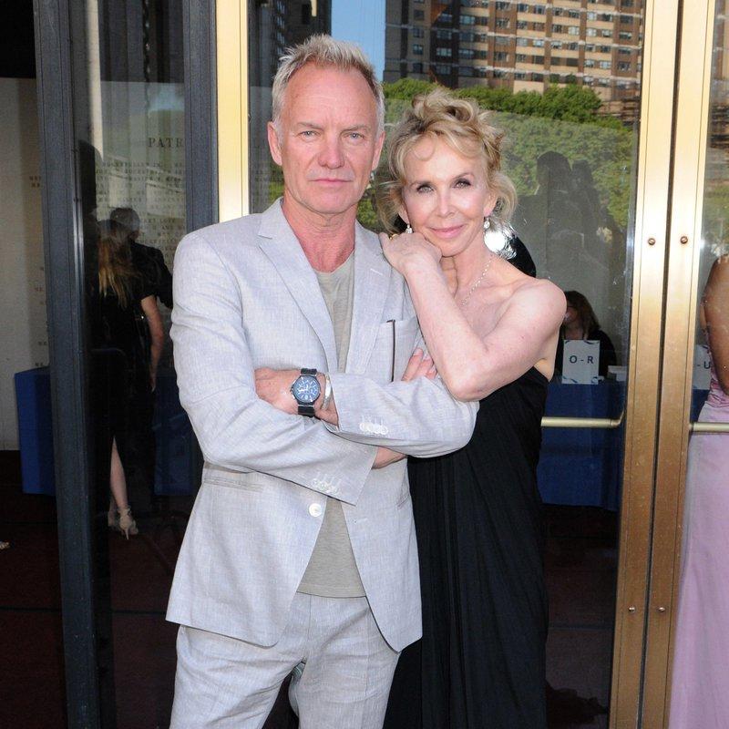 Sting in žena Trudie Styler