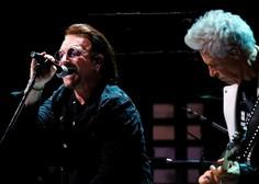Pevec skupine U2 Bono Vox bo danes upihnil 60 svečk na torti