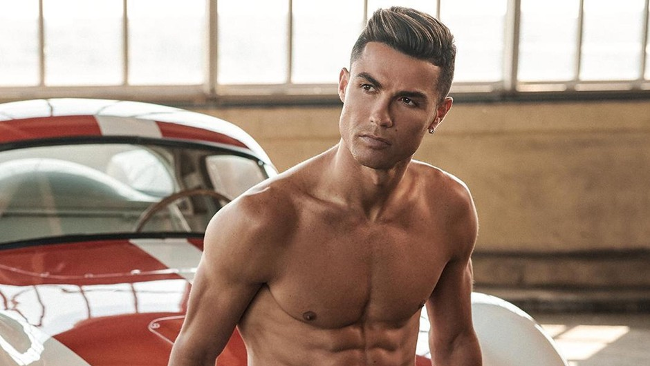 Trenirajte s Cristianom Ronaldom, ki ima zares fantastične mišice (foto: profimedia)