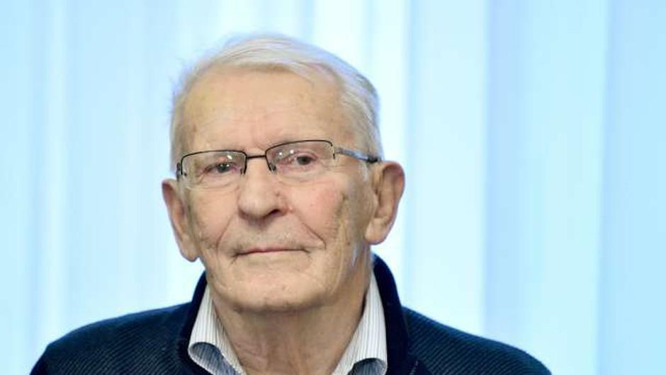 Poslovil se je starosta slovenskega alpinizma Tone Škarja (foto: STA/Tamino Petelinšek)