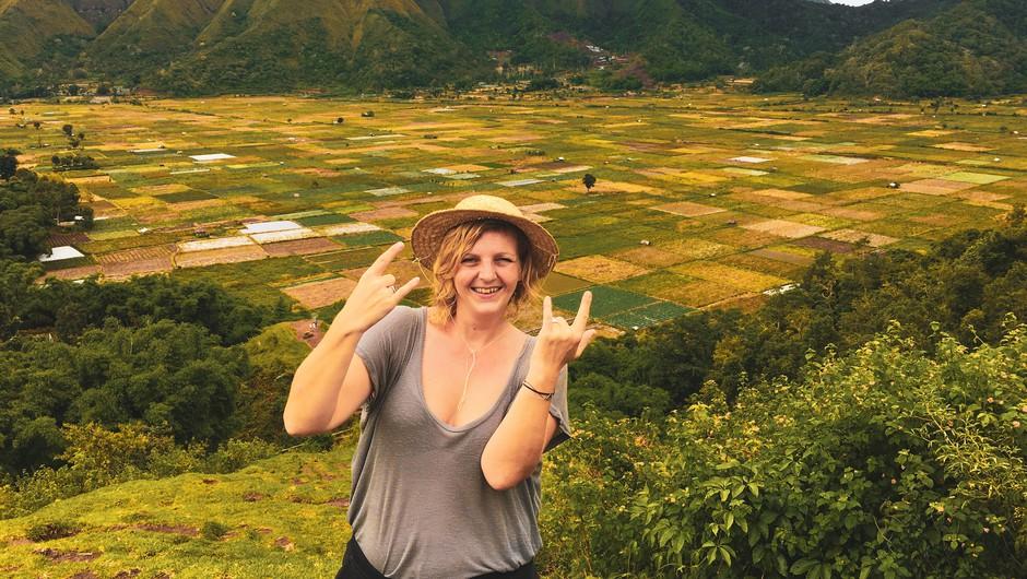 Slovenka, ki živi v Indoneziji: o turizmu na rajskih otokih po pandemiji (foto: Arhiv Danice Badovinac)