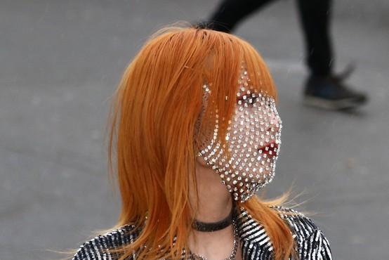 Obrazne maske so se spremenile v modni dodatek