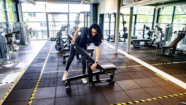 Ob iniciativi organizacije BODIFIT se porajajo ideje, kako bo morda že kmalu videti vadba v fitnes centrih (foto: Profimedia)