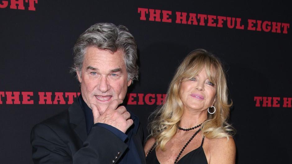 Goldie Hawn in Kurt Russell tudi v karanteni ne moreta drug brez drugega (foto: Profimedia)