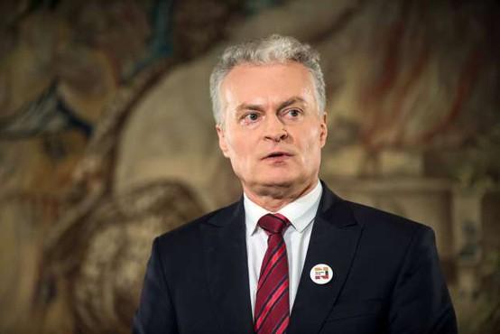 Litovski predsednik se je Borutu Pahorju zahvalil v slovenščini