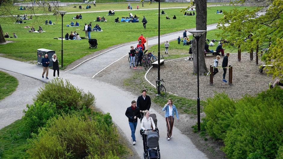 Pandemija na Švedskem poteka podobno kot v drugih državah (foto: Profimedia)