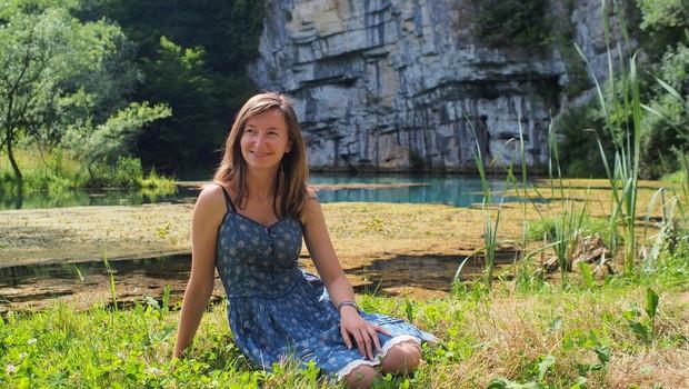 Sara Terpin: Števerjanka, ki Italijane uči o našem jeziku, lepotah in navadah (foto: Arhiv Sare Terpin)