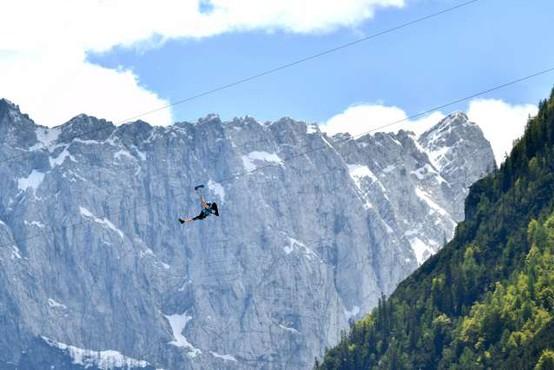 V Črni na Koroškem napeljujejo najdaljši adrenalinski spust v Sloveniji