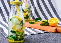 Navadna voda z okusom iz domače kuhinje? Zakaj pa ne!