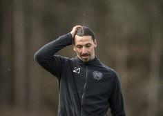 Pozlačen kip švedskega nogometaša Zlatana Ibrahimovića nenehna tarča vandalov