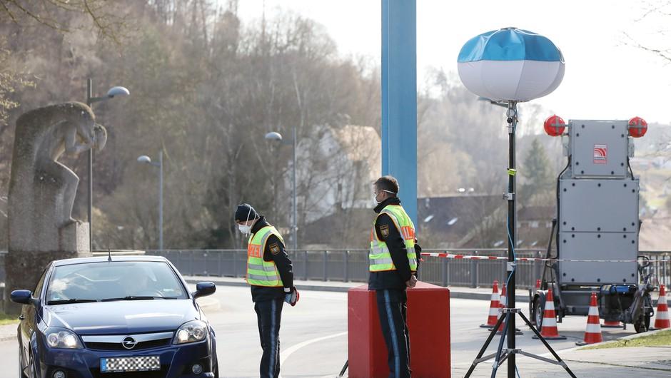 Nemčija odprla mejo z Luksemburgom, na mejah s Švico in Avstrijo rahlja ukrepe (foto: profimedia)