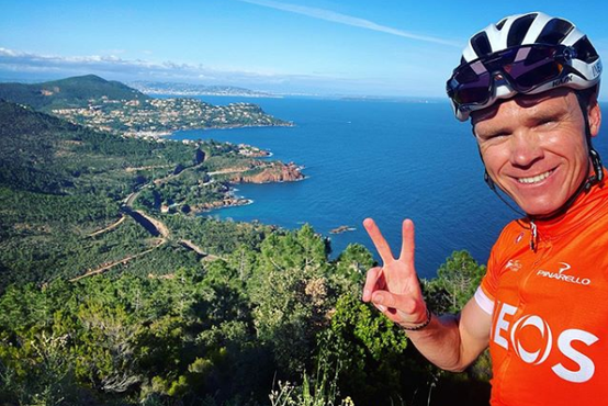 Štirikratni zmagovalec dirke po Franciji Chris Froome želi zamenjati klub