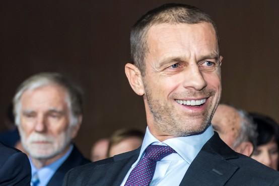 Predsednik Uefe Aleksander Čeferin je optimističen