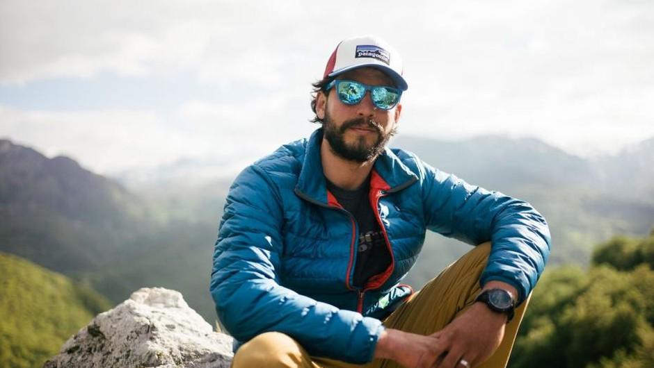 Rok Rozman, prvi obraz gibanja Balkan River Defence, ki že leta opozarja na mačehovski odnos do narave. (foto: Jan Pirnat)