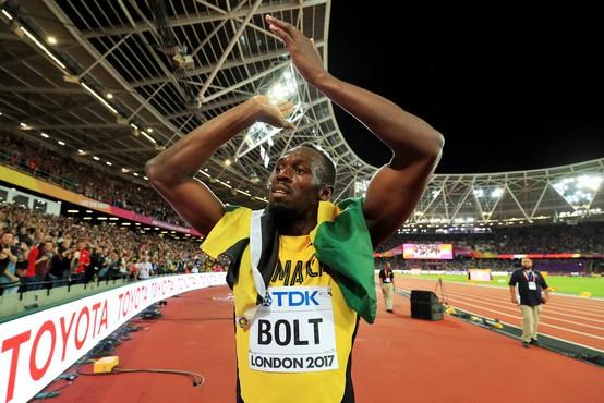 Hitri Bolt postal očka, veselo novico oznanil kar premier Jamajke