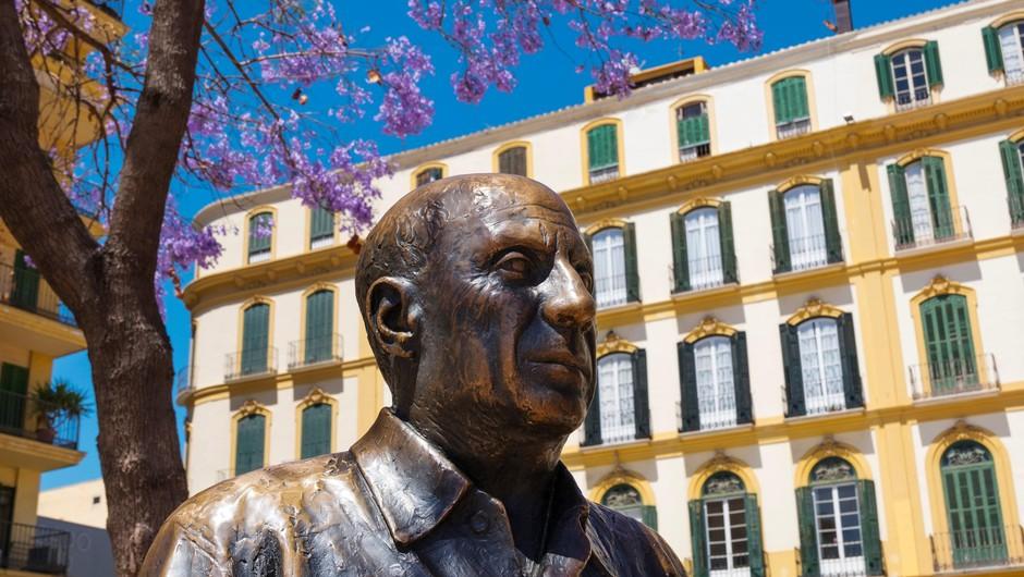Italijanka je na dobrodelnem žrebu osvojila Picassovo sliko (foto: Profimedia)