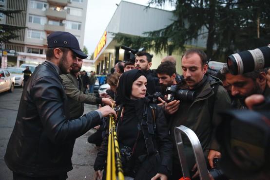 Otroci na savdski ambasadi v Istanbulu brutalno umorjenega novinarja Džamala Hašodžija odpustili morilcem