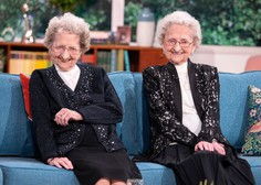 95-letni dvojčici na britanski televiziji razkrili skrivnost dolgega življenja