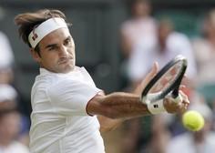 Roger Federer po odpovedi Wimbledona in OI brez motiva za trening