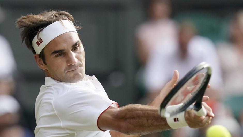 Roger Federer po odpovedi Wimbledona in OI brez motiva za trening (foto: profimedia)