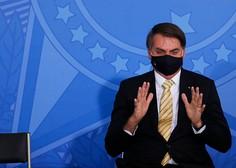 Ob arogantnem predsedniku se je Brazilija povzpela na drugo mesto po okužbah