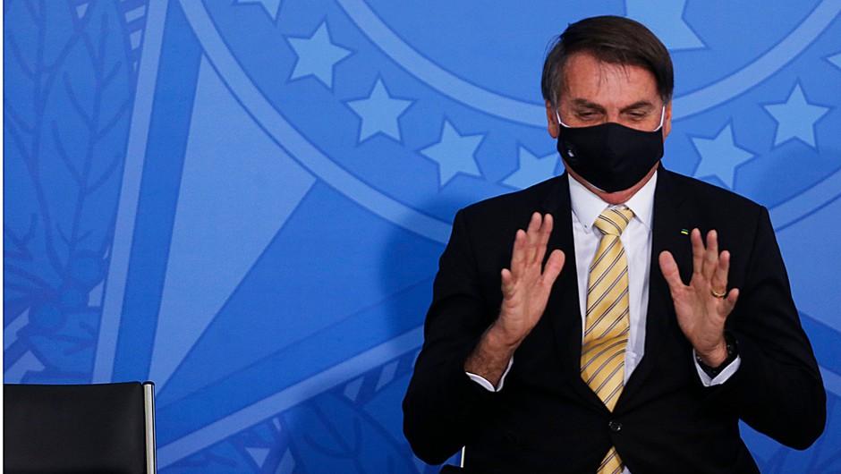 Ob arogantnem predsedniku se je Brazilija povzpela na drugo mesto po okužbah (foto: profimedia)