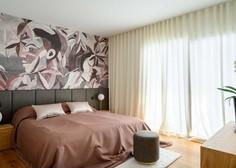 Čudovito dvoetažno stanovanje v Ljubljani z imenitno tapeto (foto)