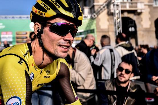 Primož Roglič kljub spremenjeni sezoni ni opustil sanj o zmagi na francoskih cestah