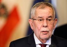 Avstrijski predsednik se je opravičil, ker je kršil ukrepe za zajezitev epidemije