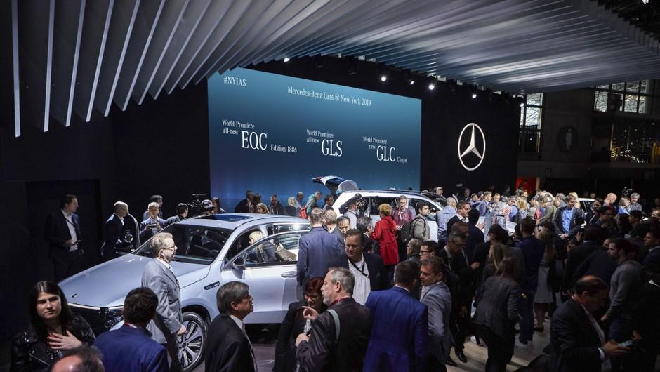 Odpovedan še zadnji veliki avtomobilski salon letos (foto: Daimler AG)