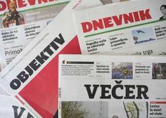 Založniki tiskanih medijev vladi poslali predlog za pomoč